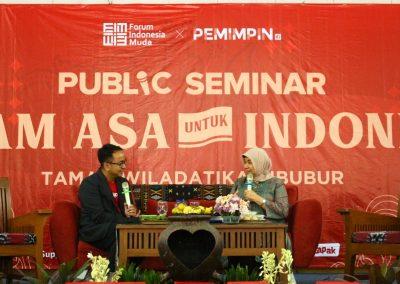 """Public Seminar Forum indonesia Muda """"Ragam Asa Untuk Indonesia"""""""